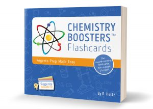"NEW!  Same great product, now in more convenient format! This 2018 version reflects the newest Chemistry Regents trends. Chemistry Boosters will teach you all the info you need to know in a clear and understandable manner. Earn loads of points on your exams by learning the ""language of the reference tables"". Regents questions follow each new topic for you to practice. And, I know you may not believe us, but chemistry studying becomes an hilarious experience. Try it to find out why!"